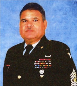 Command Sergeant Major Tomas Erazo